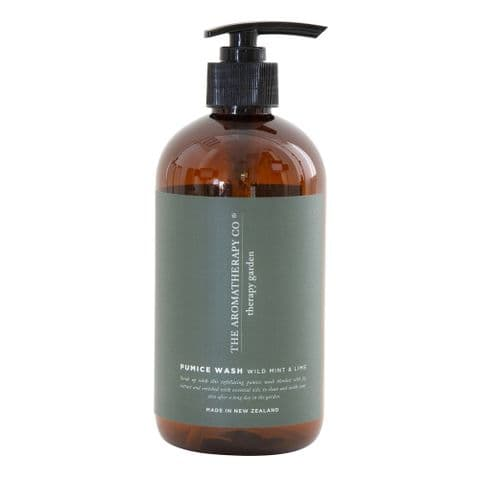 Therapy Garden Pumice Hand Wash Wild Mint & Lime By The Aromatherapy Co.