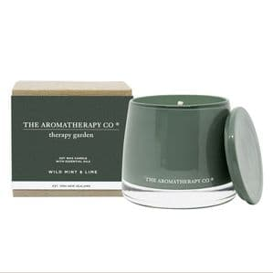 Therapy Garden Wild Mint & Lime Botanical Scented Candle
