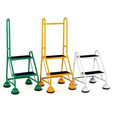 2-Step Glide-Along Mobile Steps <br>Model: S001 to S251
