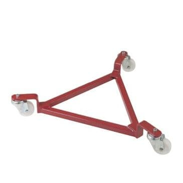 3 Wheel Triangle Drum Dolly <br />Model: DT12