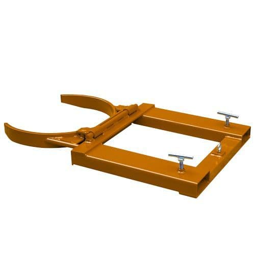 Automatic Fork Mounted Single Drum Clamp<br>Model: WRDG10