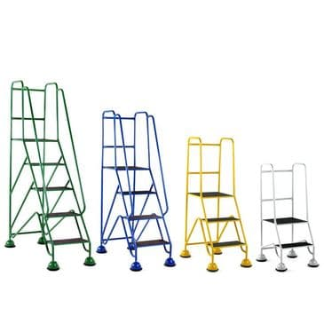 Classic Plus Glide-Along Mobile Steps <br />Models: S221 to S345