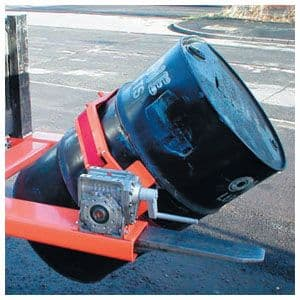 Fork Mounted Drum Tilter <br>Models: IDTL-1 & IDTL-2
