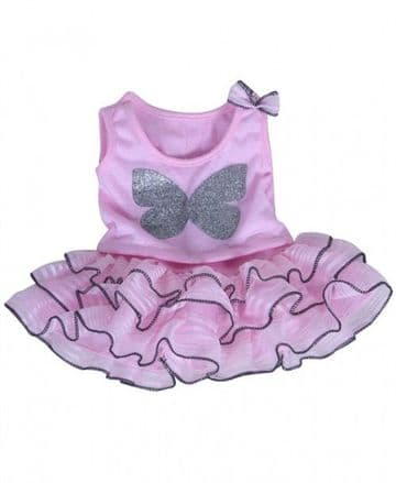 Butterfly Top with Tutu Skirt - 8""