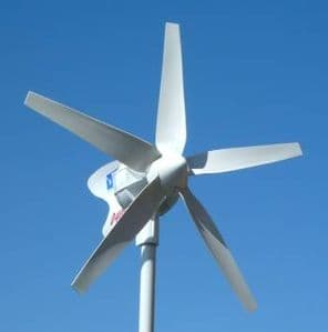 D400 12V WIND GENERATOR WITH REGULATOR, STOP SWITCH AND DUMP RESISTOR