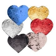 Printable Sequin Reveal Adhesive Patch - Heart