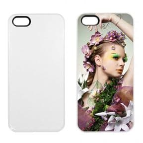 White iPhone 5 Case - Rubber