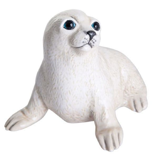 Baby Seal Cub - Arctic Baby Figurine by John Beswick