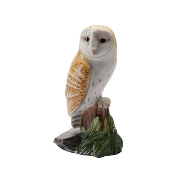 Barn Owl - Miniature Bird Figurine by John Beswick