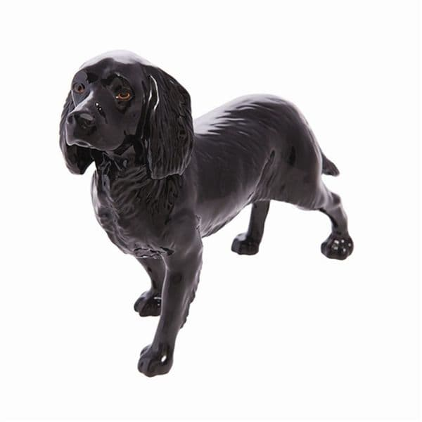Black Cocker Spaniel - John Beswick Connoisseur Dog