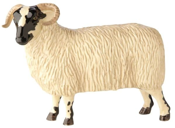 Black Faced Ewe Farmyard Figurine by John Beswick