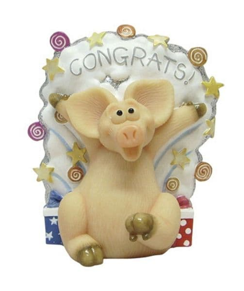 Congratulation - Piggin Collectors Figurine