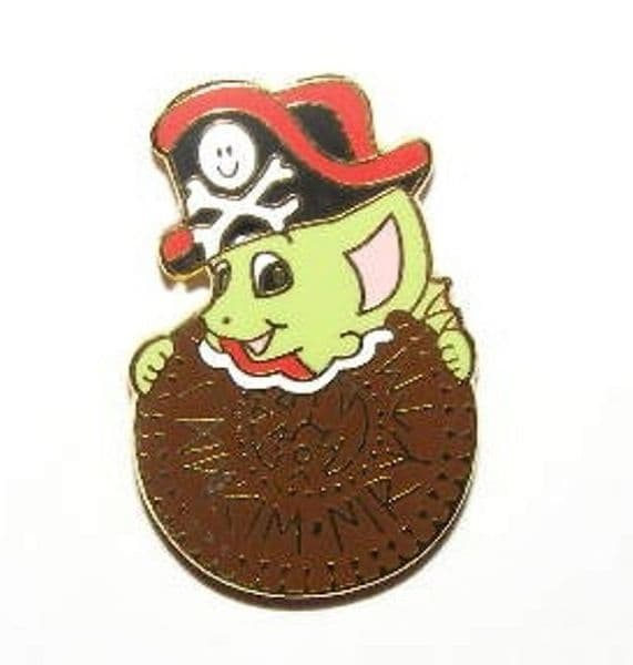 Cookie Pirate - Pocket Dragon Collectors Pin Bade