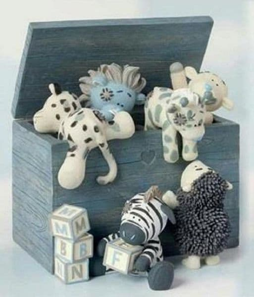 Fun With My Blue Nose Friends Collectors Figurine