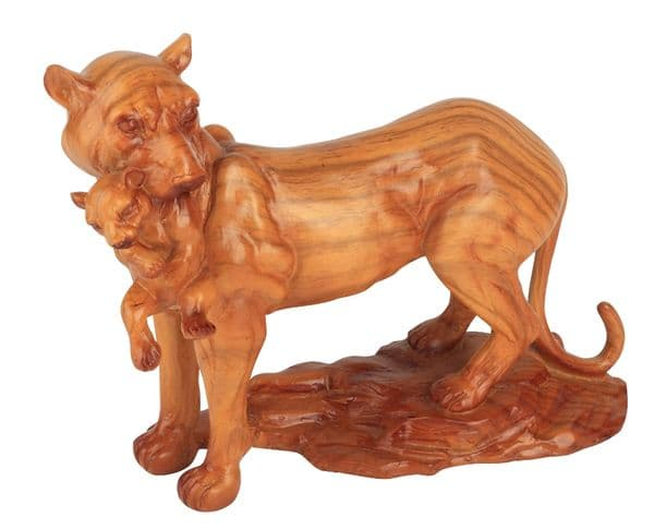 Gentle Touch - African Plains Lioness & Cub Collectors Figurine