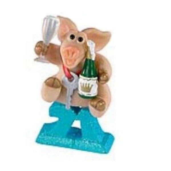 Happy 21st - Piggin Collectors Birthday Figurine