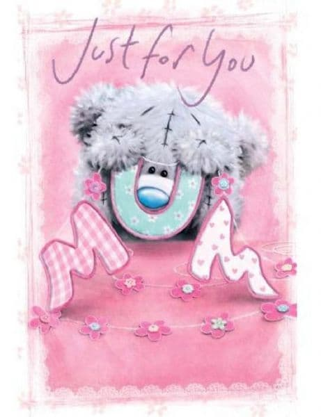 .Just For You Mum Me To You Mothers Day Card