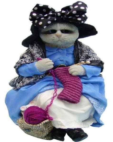 Kitty the Cat - Hobo Clown Collectors Figurine