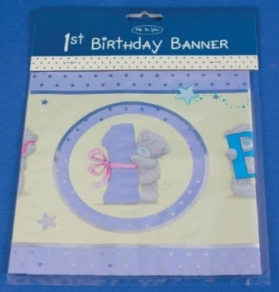 Me to You Collectors 1st Birthday Banner
