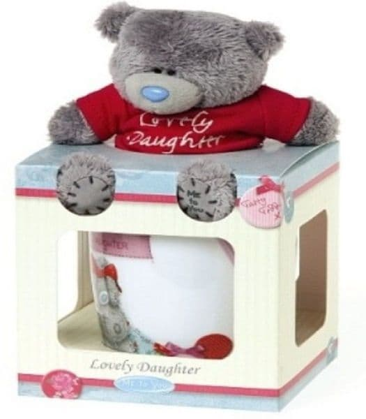 Me To You Lovely Daughter Plush Bear & Mug Gift Set
