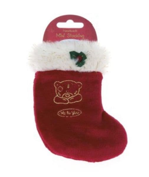 Me to You  Mini Christmas Stocking