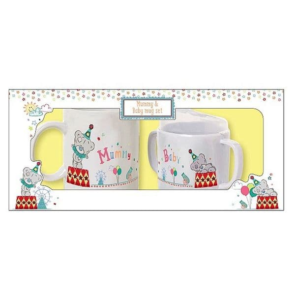 Mummy and Baby Mug and Beaker Set from Me to You Tiny Tatty Teddy