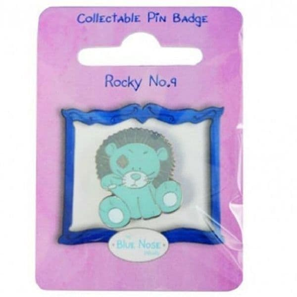 Pin Badge Rocky the Lion from Me To You My Blue Nose Friends