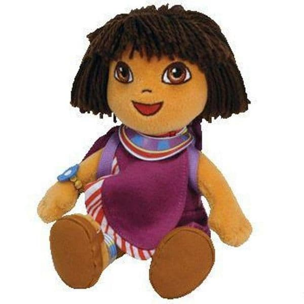 TY Beanie Babies Dora The Explorer Collectors Plush - National Dress of Tanzania