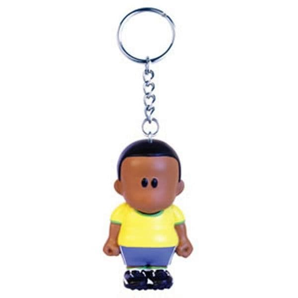 Weenicon Collectors Football Keyring King of Brazil