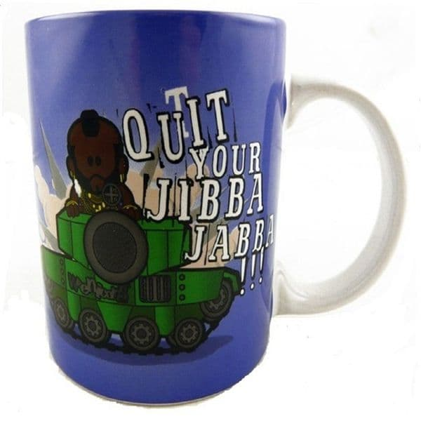 Weenicon Collectors Mug Quit Your Jibba Jabba