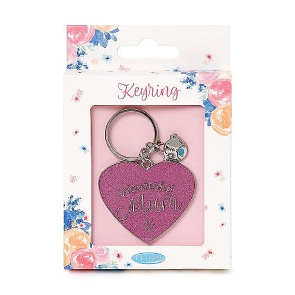Wonderful Mum Keyring from Me to You Collection