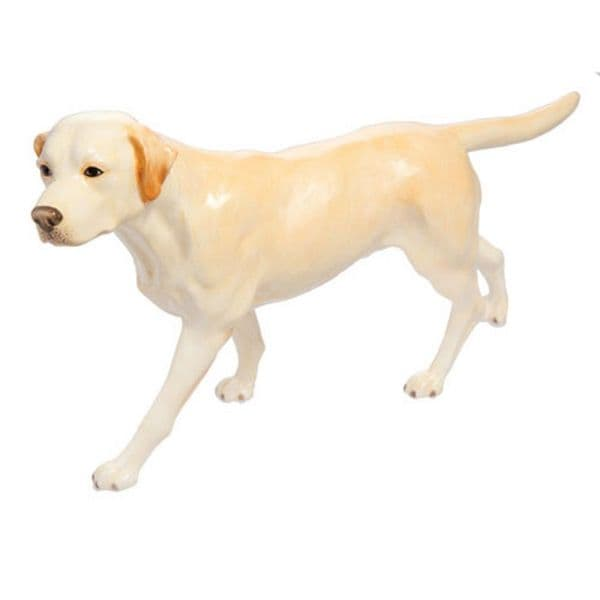 Yellow Labrador  - John Beswick Connoisseur Dog