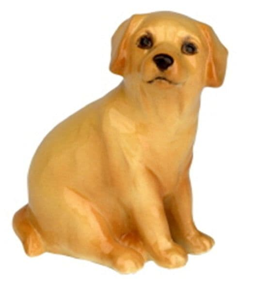 Yellow Labrador Pup - John Beswick Collectors Dog Figurine