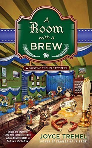 A Room With A Brew: Brewing Trouble Mystery Book 3