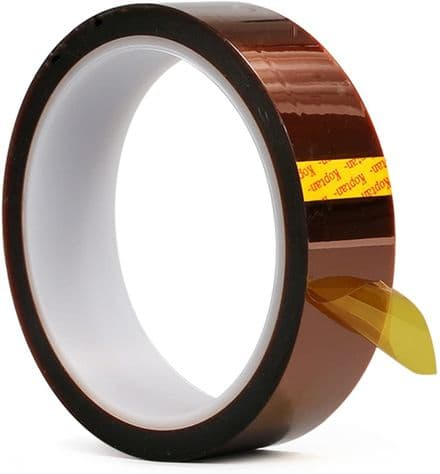 10 HEAT TRANSFER RESISTANT TAPE ADHESIVE 20mm x 33m POLYIMIDE for SUBLIMATION MUG CERAMICS
