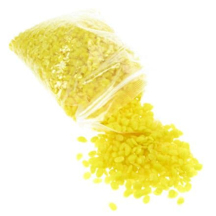 Bees Wax Pellets - Yellow