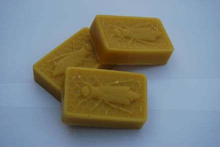 Beeswax Ingots (Large with bee Motif)