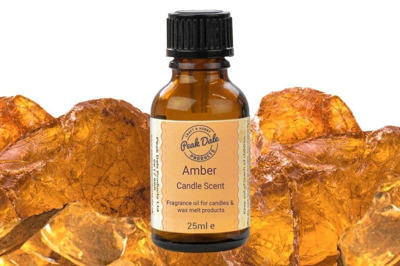 Candle Fragrance Oil - Amber 25ml