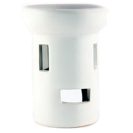 Ceramic Oil Burner Gloss White OB011
