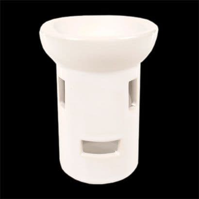 Ceramic Oil Burner White Gloss 0B009