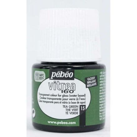 Glass Paint Pebeo Vitrail 160 - Tea Green