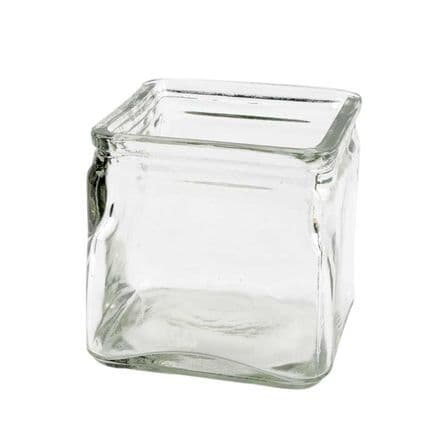 Square Candle Holder 10x10cm