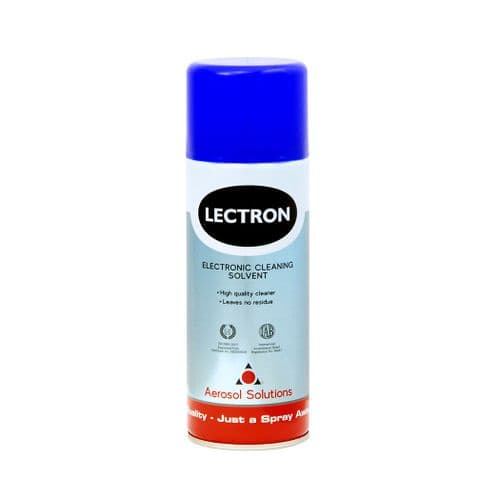 0101 LECTRON Electronic Cleaning Solvent - Pack of 12 x 400ml