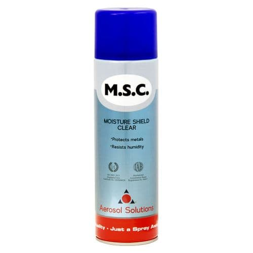 0209 M.S.C Moisture Shield Clear - Pack of 12 x 500ml