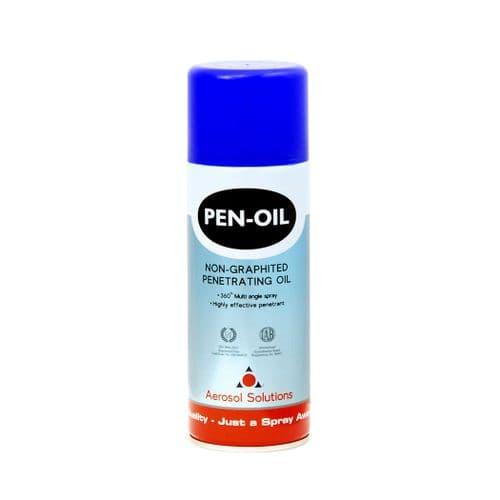 0401 PEN-OIL Non-Graphited Penetrating Oil - Pack of 12 x 400ml