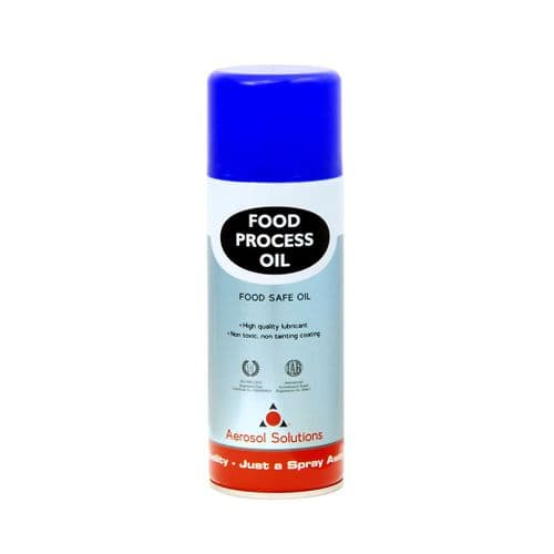 0411 FOOD PROCESS OIL Food Safe Oil - Pack of 12 x 400ml