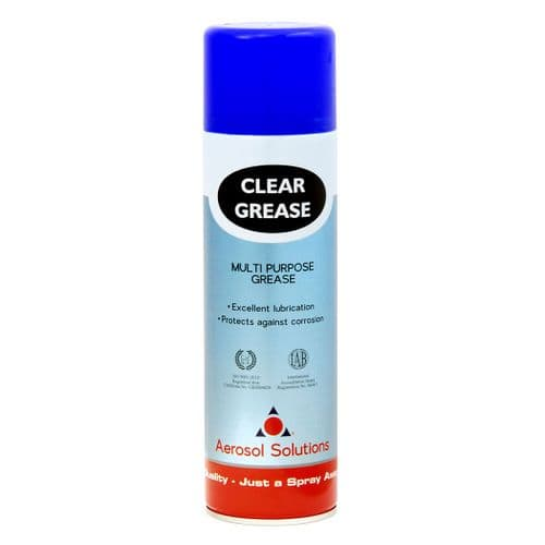 0508 CLEAR GREASE Multipurpose Clear Grease - Pack of 12 x 500ml