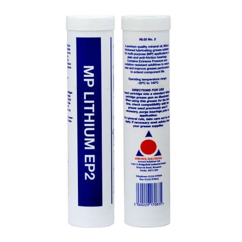 1511 EP2 LITHIUM GREASE Lithium Grease Cartridge - Pack of 12 x 400g