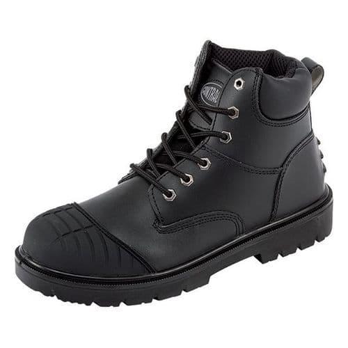 807SCM Black Contractor Boot