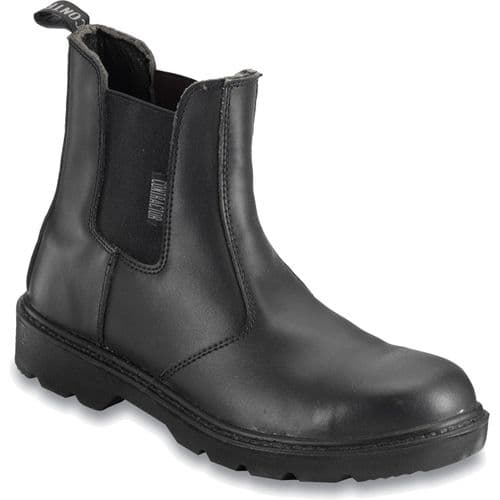 812SM Black Contractor Dealer Boot